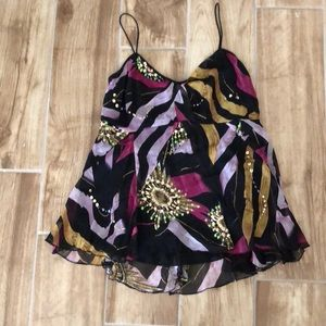 DVF fancy top